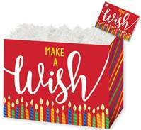 Make a Wish Candles Gift Basket Boxes Gift Basket Boxes, Gift Basket Packaging