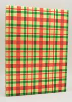 Metallic Traditional Plaid Gift Wrap (FREE FREIGHT)