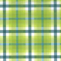 Moss Plaid Tissue Paper