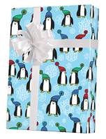 Penguins Gift Wrap Wholesale Gift Wrap Paper, Christmas Gift Wrap Paper