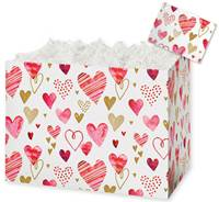 Playful Hearts Gift Basket Boxes Gift Basket Boxes, Gift Basket Packaging