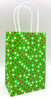 Polka Dot Holiday - Dots on Green (Pup)