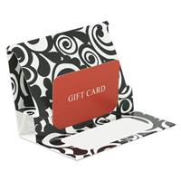 Pop-up Gift Card Holder (Bold Scroll)