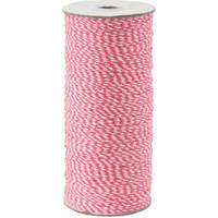 Premium Bakers Twine - Pink/White