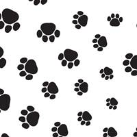 Puppy Paws Tissue Paper
