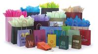 Shadow Stripe Shopping Bags (Hot Stamp) - Queen