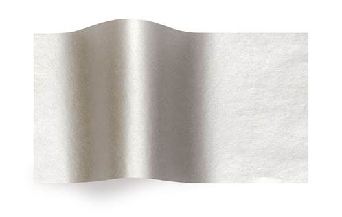 Silver/Silver Tissue (2 sided)