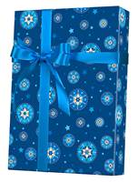 Starry Chanukah Gift Wrap Wholesale Gift Wrap Paper, Christmas Gift Wrap Paper