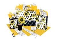 Sunflower Collection Paper Shopping Bags (Pup)
