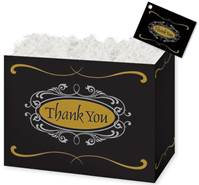 Thank You Script Gift Basket Boxes Gift Basket Boxes, Gift Basket Packaging