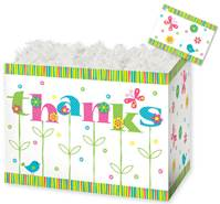 Thanks in Bloom Gift Basket Boxes Gift Basket Boxes, Gift Basket Packaging