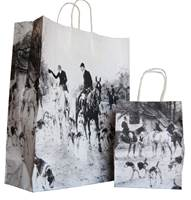The Hunt Paper Shopping Bags (Queen)