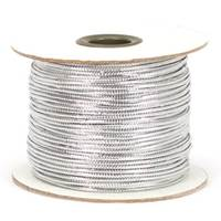 Tinsel Cord - Metallic Silver