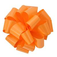 Tropical Orange Splendorette Pre-Notched Bows