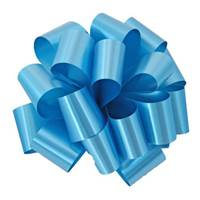 Turquoise Splendorette Pre-Notched Bows