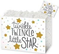 Twinkle Little Star Gift Basket Boxes Gift Basket Boxes, Gift Basket Packaging