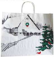 Winter Barn Paper Shopping Bags (Vogue)