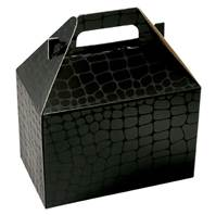 Mock Croc Gable Box