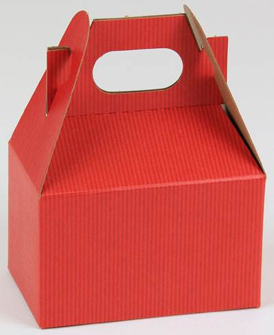 Really Red Shadow Stripe Gable Box