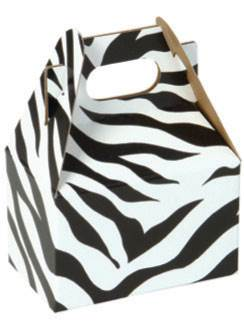 Zebra Stripes Gable Box