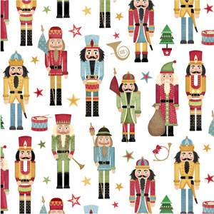 Traditional Nutcracker Gift Wrap