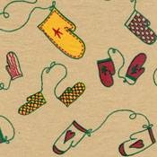 Holiday Mittens Tissue Paper