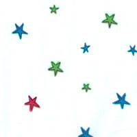 Holiday Patches & Stars Tissue Paper