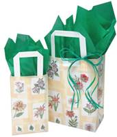 Mosaic Floral Shopping Bags