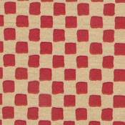 Primitive Check Red on Kraft Tissue Paper