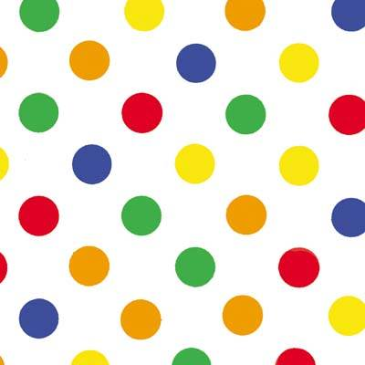 Dots - Primary Dots Tissue Paper