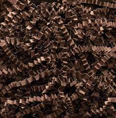 Chocolate Spring-Fill Crinkle Cut Shred