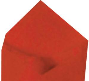 Red Economy Tissue Paper