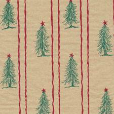 Tree Farm on Kraft Tissue Paper